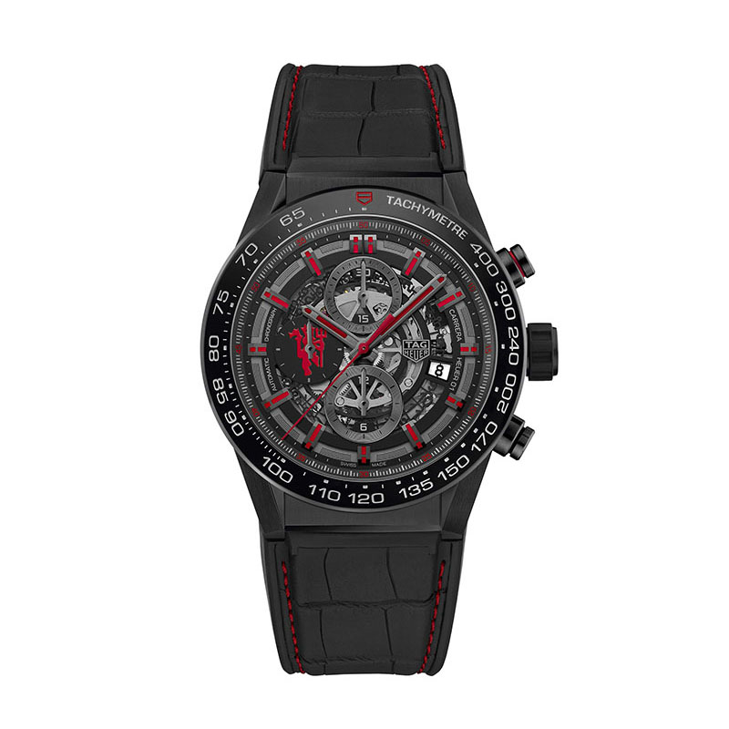 Carerra Heuer 01 Manchester United Special Edition