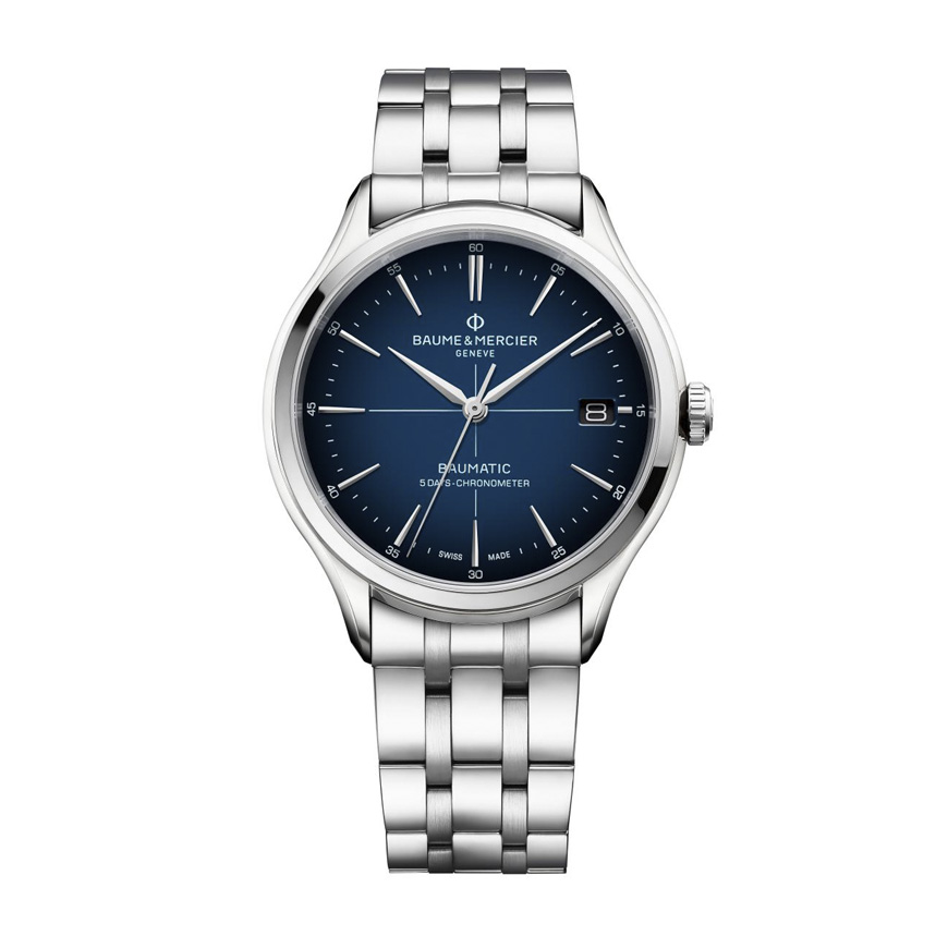 Clifton Baumatic Gradient Blue Dial Automatic